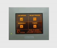 Dedicated projects on touch panels